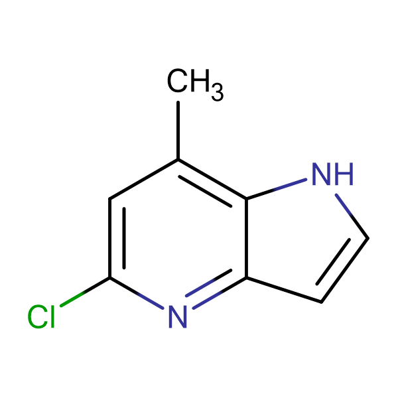 5-CHLORO-7-METHYL-1H-PYRROLO[3,2-B]PYRIDINE