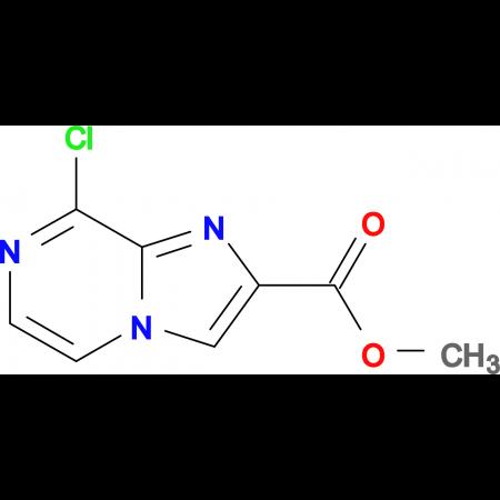 METHYL 8-CHLOROIMIDAZO[1,2-A]PYRAZINE-2-CARBOXYLATE