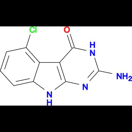 2-Amino-5-chloro-3H-pyrimido[4,5-b]indol-4(9H)-one