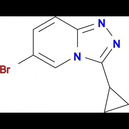 6-BROMO-3-CYCLOPROPYL-[1,2,4]TRIAZOLO[4,3-A]PYRIDINE