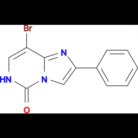 8-BROMO-2-PHENYLIMIDAZO[1,2-C]PYRIMIDIN-5(6H)-ONE