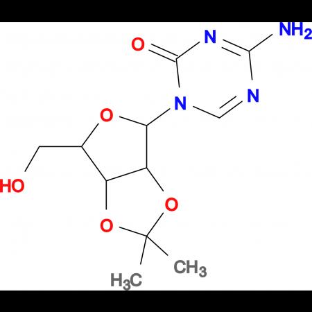 4-AMINO-1-[2,3-O-(1-METHYLETHYLIDENE)PENTOFURANOSYL]-1,3,5-TRIAZIN-2(1H)-ONE
