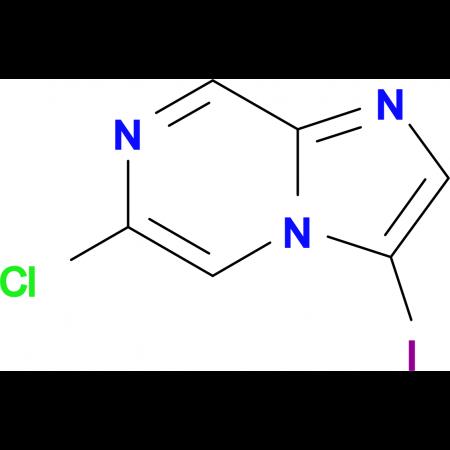 6-CHLORO-3-IODOIMIDAZO[1,2-A]PYRAZINE