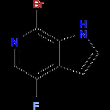 7-BROMO-4-FLUORO-1H-PYRROLO[2,3-C]PYRIDINE