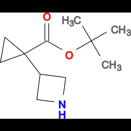 TERT-BUTYL 1-(AZETIDIN-3-YL)CYCLOPROPANECARBOXYLATE