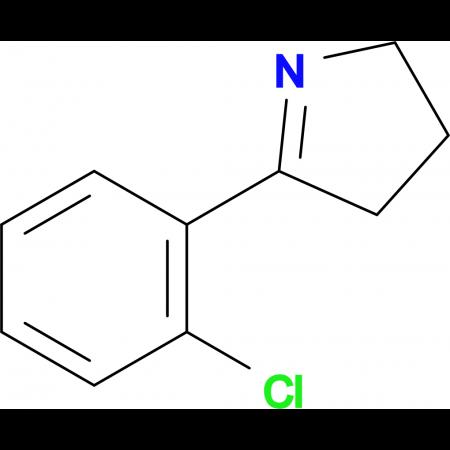 5-(2-CHLOROPHENYL)-3,4-DIHYDRO-2H-PYRROLE
