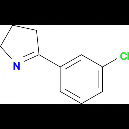 5-(3-CHLOROPHENYL)-3,4-DIHYDRO-2H-PYRROLE