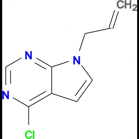 7-ALLYL-4-CHLORO-7H-PYRROLO[2,3-D]PYRIMIDINE