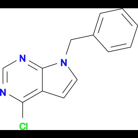 7-BENZYL-4-CHLORO-7H-PYRROLO[2,3-D] PYRIMIDINE