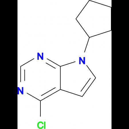 4-Chloro-7-cyclopentyl-7H-pyrrolo[2,3-d]pyrimidine