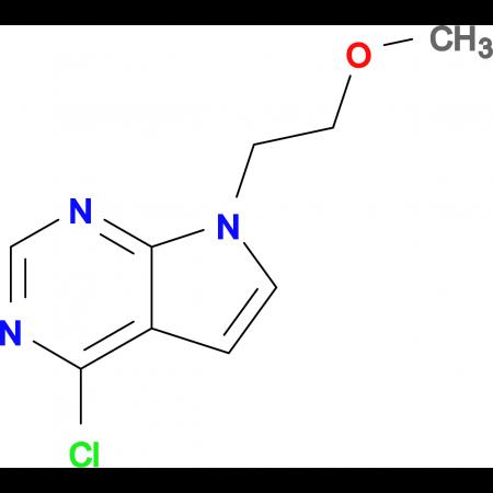4-CHLORO-7-(2-METHOXYETHYL)-7H-PYRROLO[2,3-D]PYRIMIDINE