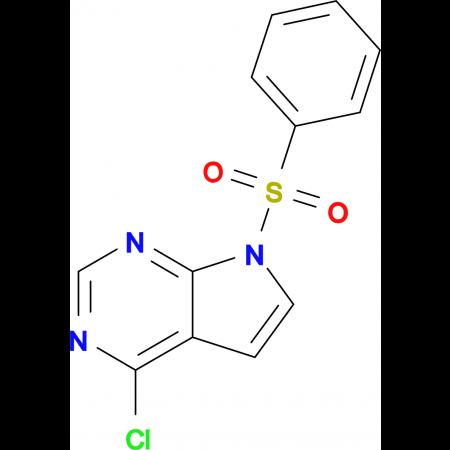 4-CHLORO-7-(PHENYLSULFONYL)-7H-PYRROLO[2,3-D]PYRIMIDINE