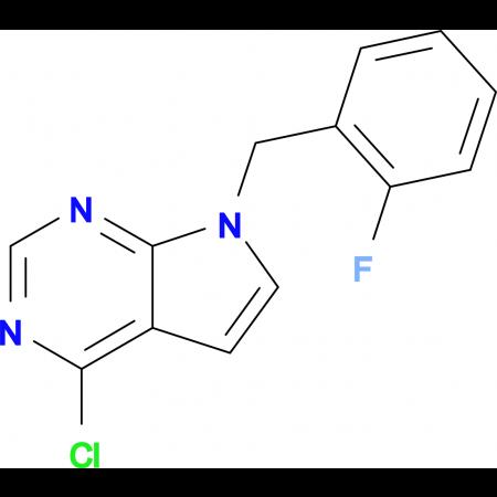 7-(2-FLUOROBENZYL)-4-CHLORO-7H-PYRROLO[2,3-D]PYRIMIDINE