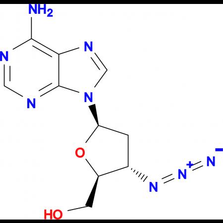 3'-AZIDO-2',3'-DIDEOXYADENOSINE