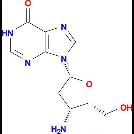3'-AMINO-2',3'-DIDEOYINOSINE