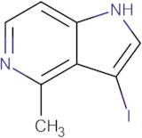 3-Iodo-4-methyl-1H-pyrrolo[3,2-c]pyridine