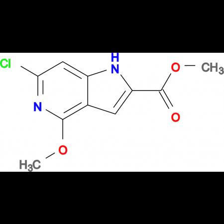 Methyl 6-chloro-4-methoxy-1H-pyrrolo[3,2-c]pyridine-2-carboxylate