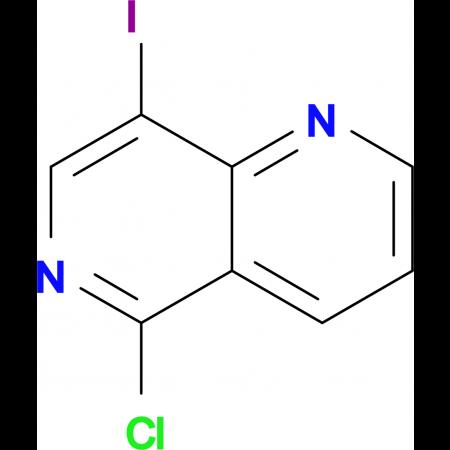 5-Chloro-8-iodo-1,6-naphthyridine