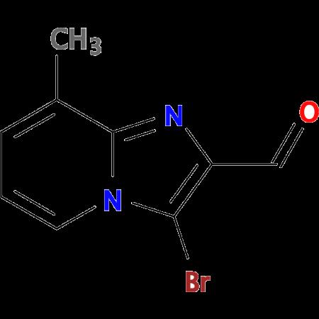 3-Bromo-8-methylimidazo[1,2-a]pyridine-2-carbaldehyde