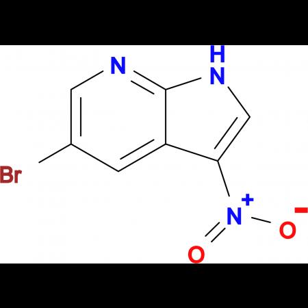 5-Bromo-3-nitro-1H-pyrrolo[2,3-b]pyridine
