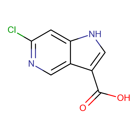 6-Chloro-1H-pyrrolo[3,2-c]pyridine-3-carboxylic acid