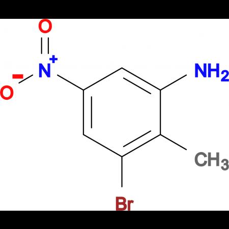 3-Bromo-2-methyl-5-nitroaniline