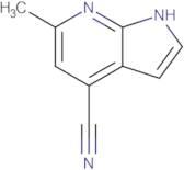 6-Methyl-1H-pyrrolo[2,3-b]pyridine-4-carbonitrile