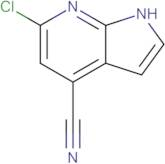 6-Chloro-1H-pyrrolo[2,3-b]pyridine-4-carbonitrile