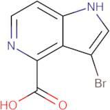 3-Bromo-1H-pyrrolo[3,2-c]pyridine-4-carboxylic acid