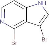3,4-Dibromo-1H-pyrrolo[3,2-c]pyridine