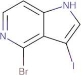 4-Bromo-3-iodo-1H-pyrrolo[3,2-c]pyridine