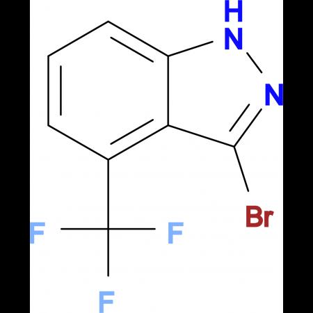 3-Bromo-4-(trifluoromethyl)-1H-indazole