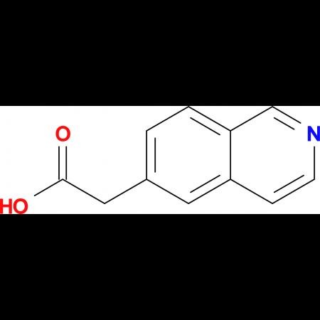 2-(Isoquinolin-6-yl)acetic acid