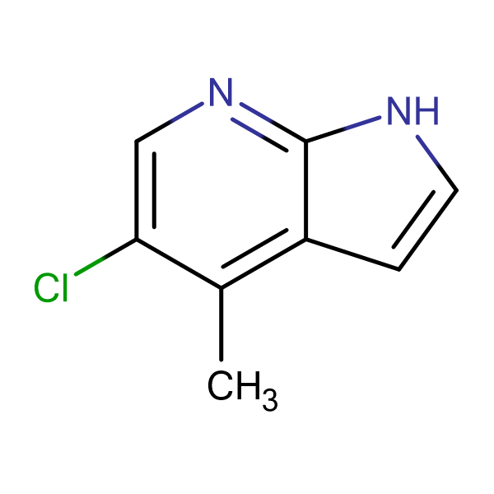 5-Chloro-4-methyl-1H-pyrrolo[2,3-b]pyridine