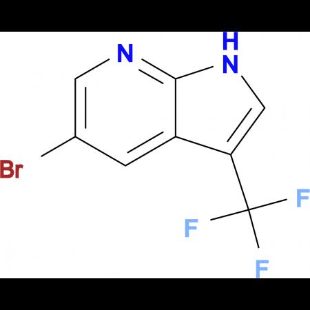 5-Bromo-3-(trifluoromethyl)-1H-pyrrolo[2,3-b]pyridine