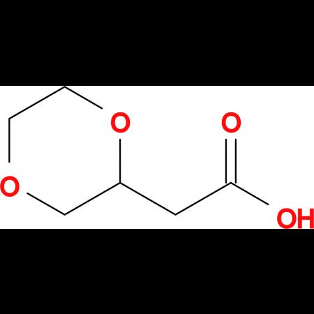 2-(1,4-Dioxan-2-yl)acetic acid