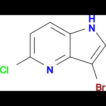 3-Bromo-5-chloro-1H-pyrrolo[3,2-b]pyridine