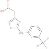 2-(4-(3-(Trifluoromethyl)phenylamino)-3,5-thiazolyl)acetic acid, 95%