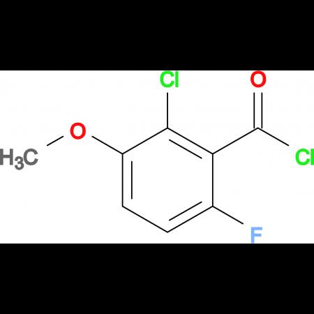 2-Chloro-6-fluoro-3-methoxybenzoyl chloride