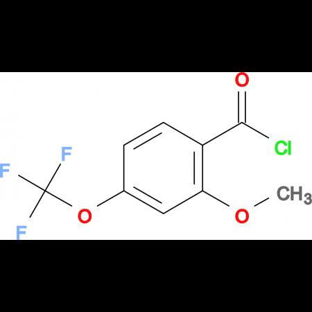 2-Methoxy-4-(trifluoromethoxy)benzoyl chloride