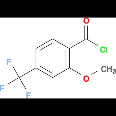2-Methoxy-4-(trifluoromethyl)benzoyl chloride