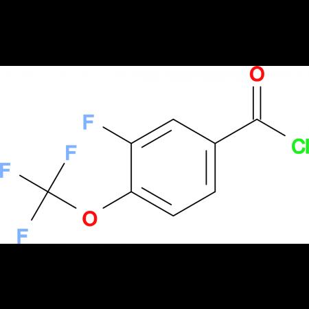 3-Fluoro-4-(trifluoromethoxy)benzoyl chloride