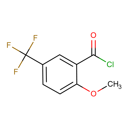 2-Methoxy-5-(trifluoromethyl)benzoyl chloride