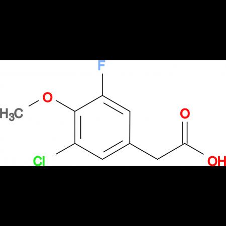 3-Chloro-5-fluoro-4-methoxyphenylacetic acid