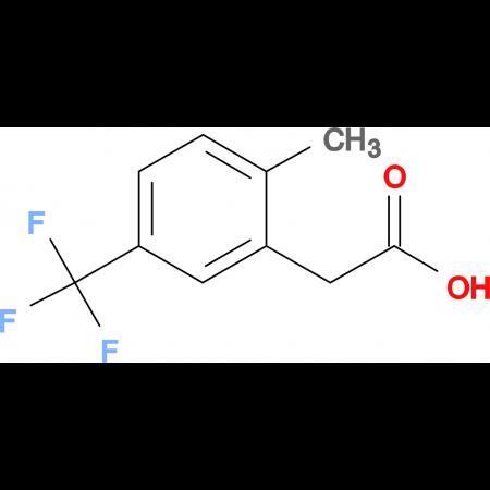2-Methyl-5-(trifluoromethyl)phenylacetic acid