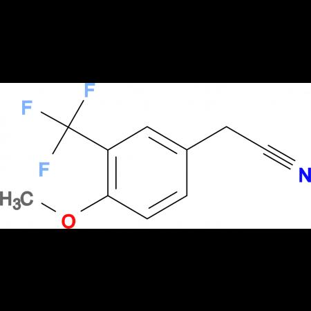4-Methoxy-3-(trifluoromethyl)phenylacetonitrile