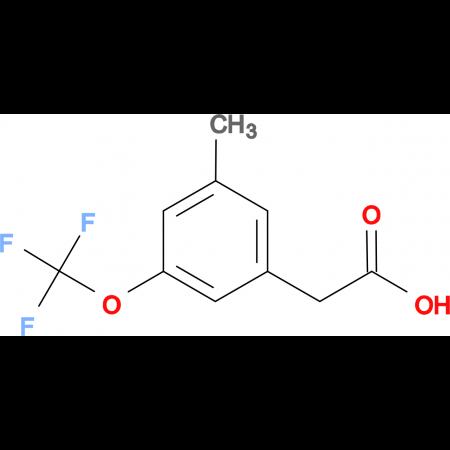 3-Methyl-5-(trifluoromethoxy)phenylacetic acid