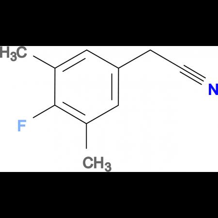 4-Fluoro-3,5-dimethylphenylacetonitrile