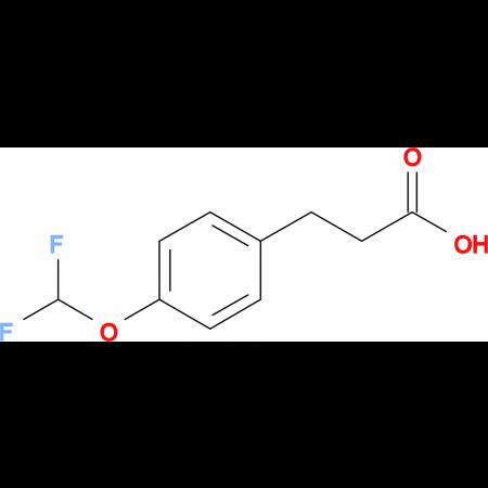 3-[4-(Difluoromethoxy)phenyl]propionic acid