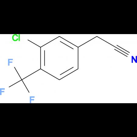 3-Chloro-4-(trifluoromethyl)phenylacetonitrile